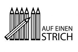 Sieben auf einen Strich: Logo by Jens Wiesner