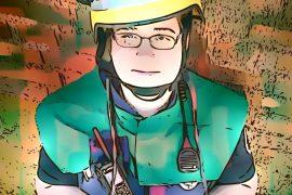 Vanessa Drossel - cartoonisiertes Foto von Reimer Hinrich