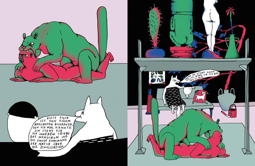 Nando von Arb: Comic-Panels