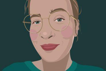 Selbstportrait: Martina Ern