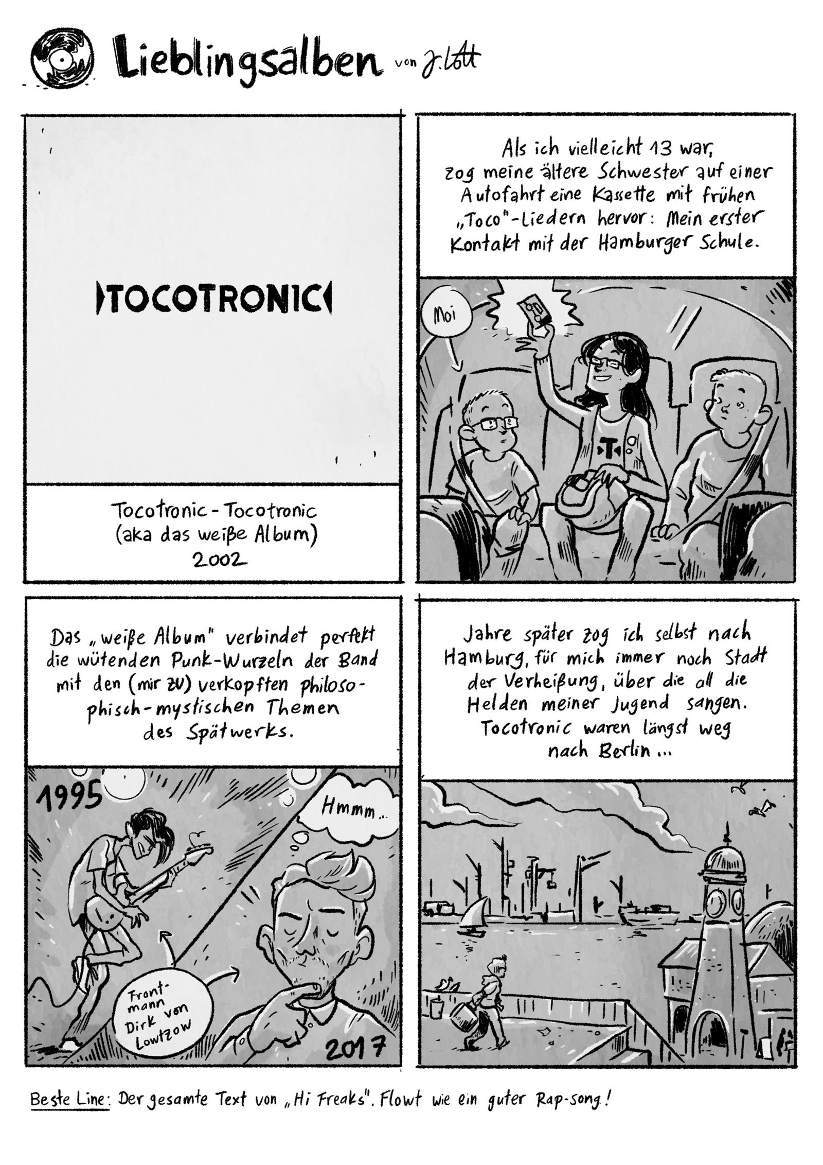 Lieblingsalben: Tocotronic