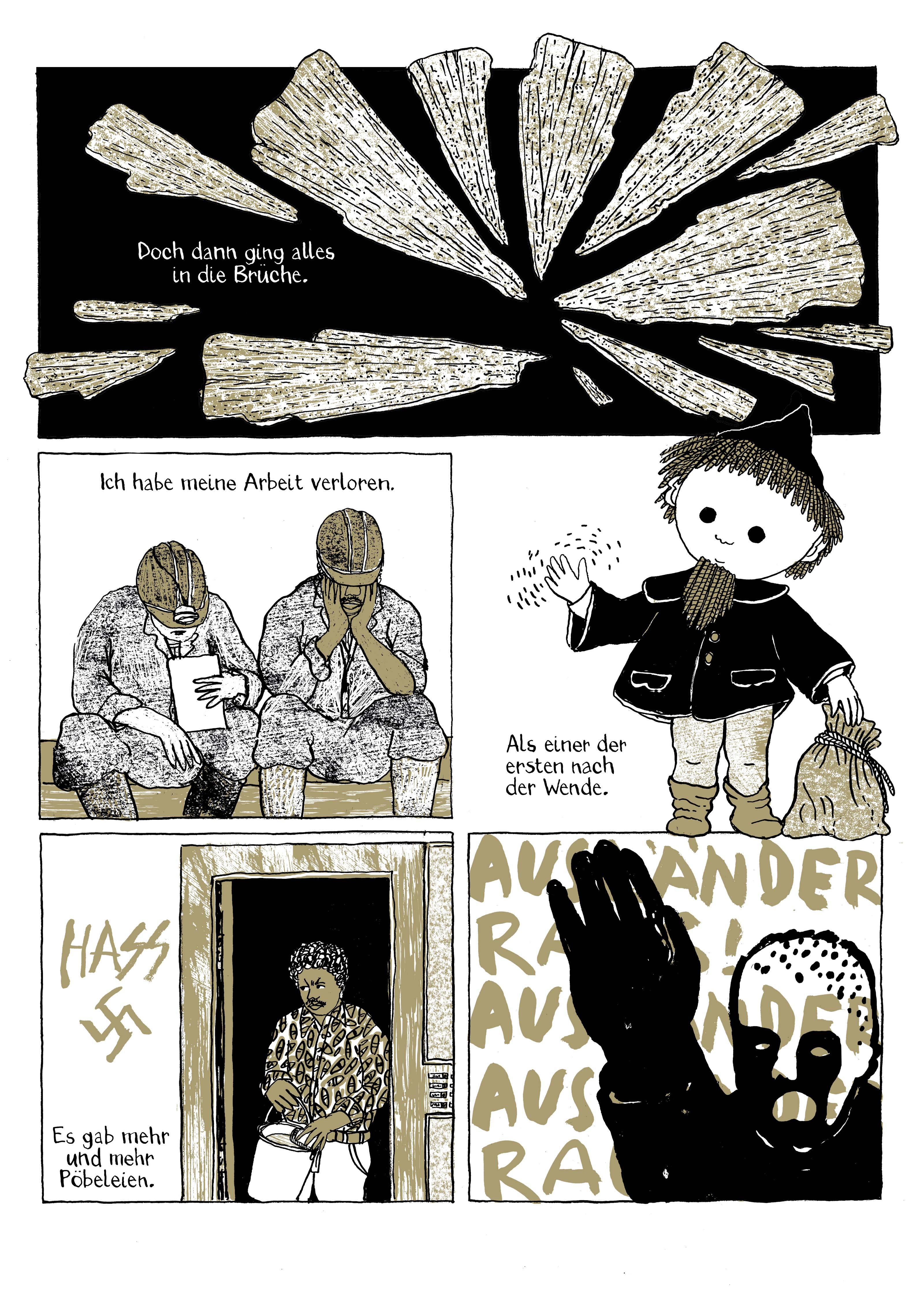 Comicseite von Birgit Weyhe