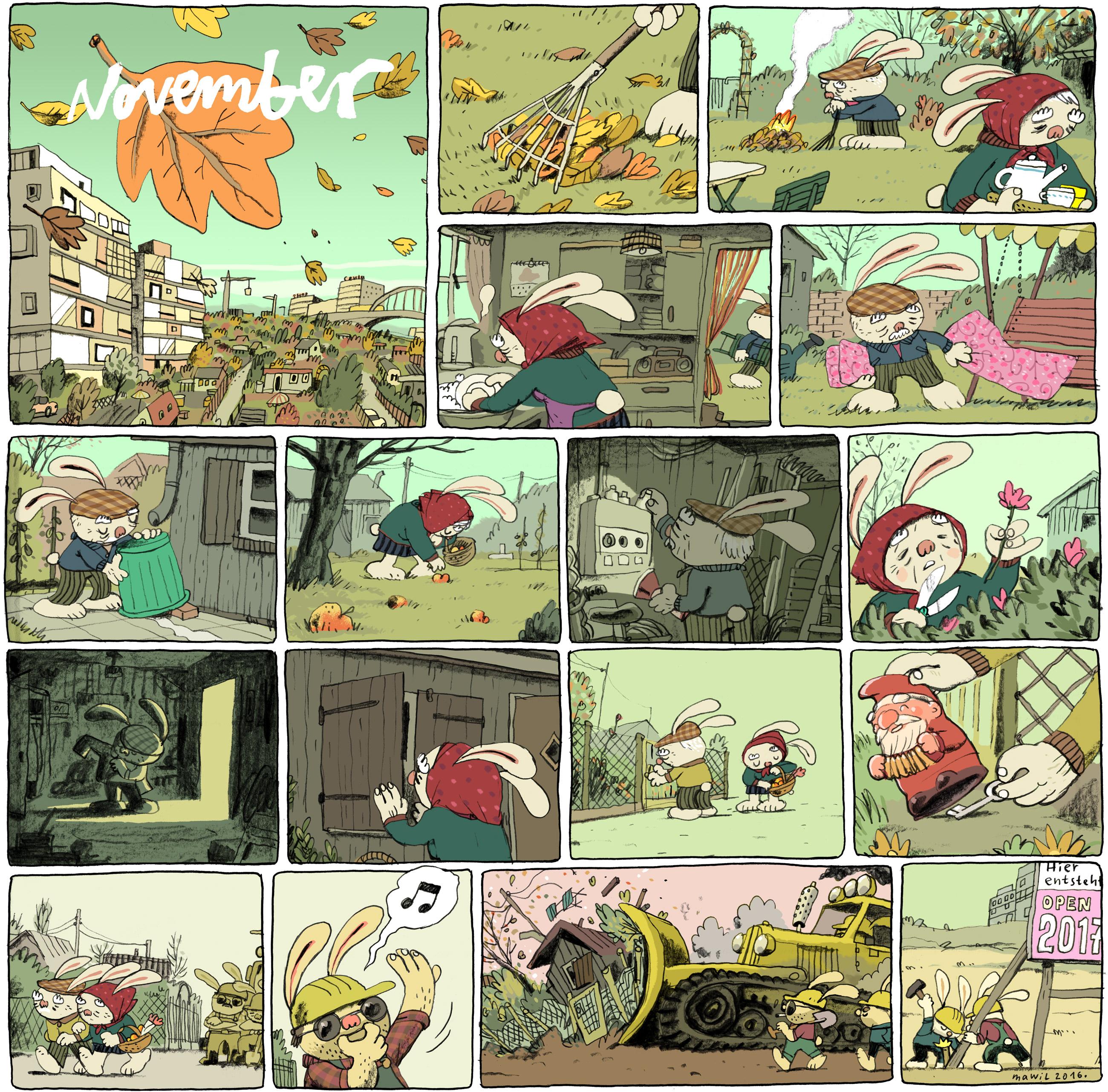 Mawil_ Garten-Comic