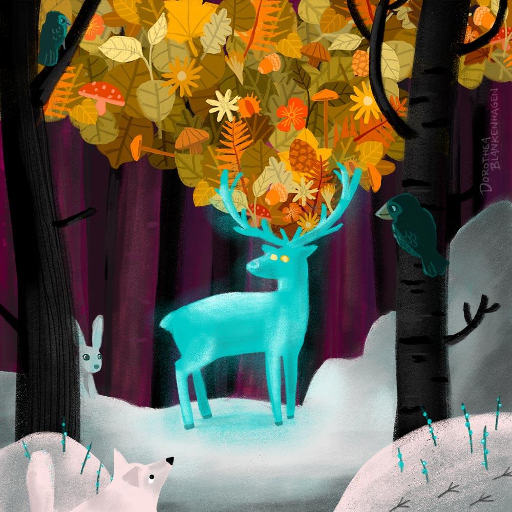 Dorothea Blankenhagen: Forest