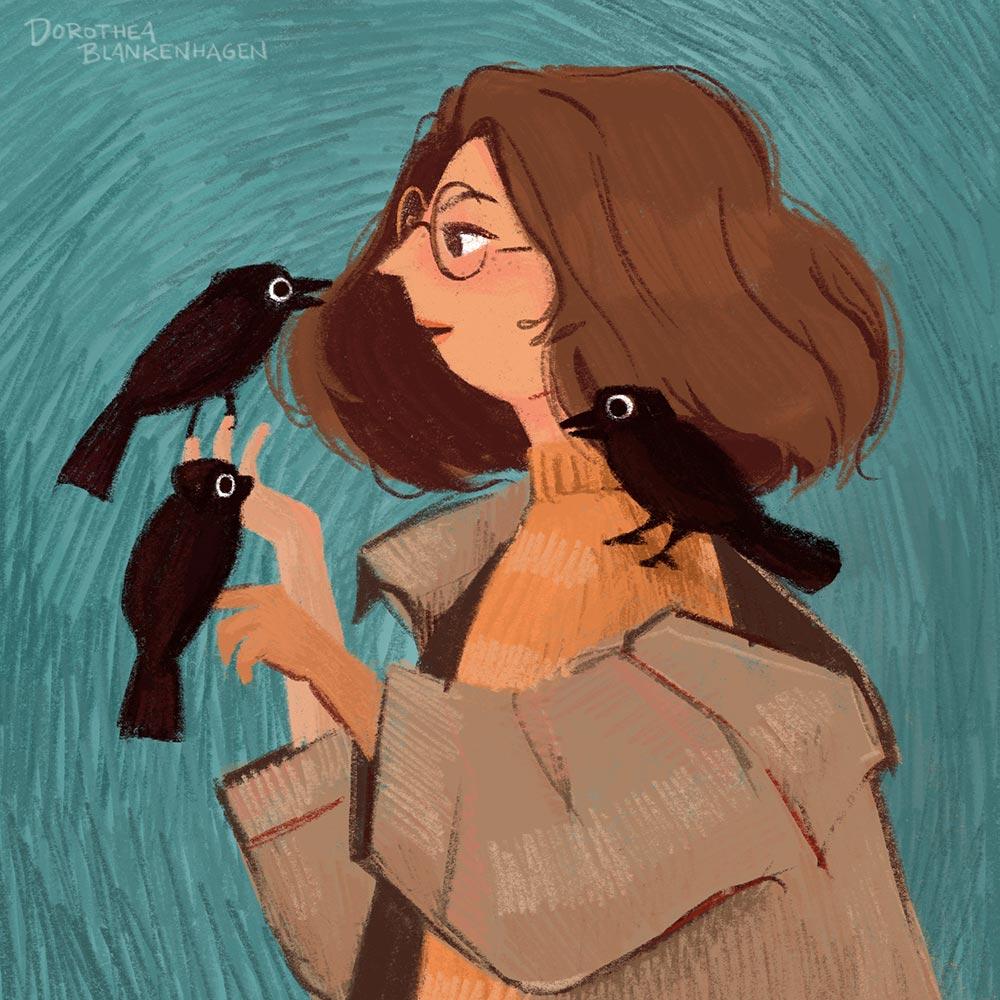 Dorothea Blankenhagen: Ravengirl