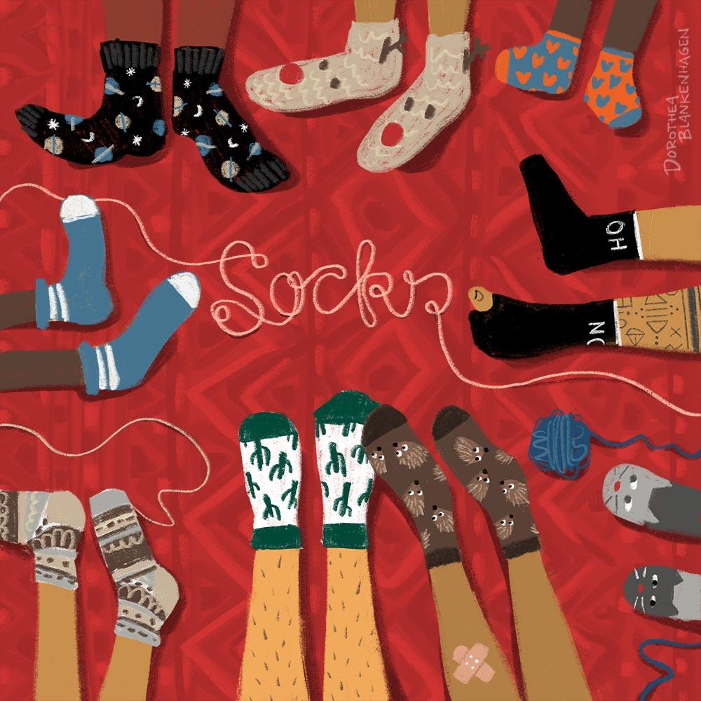 Dorothea Blankenhagen: Socks