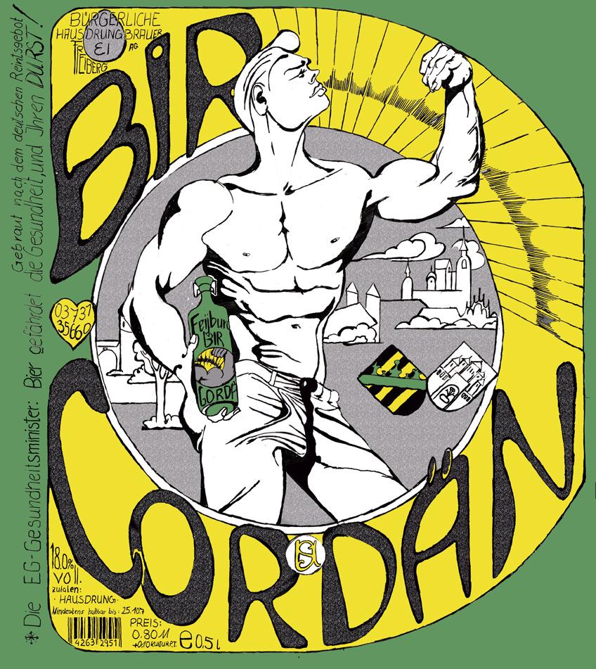 """""""BIR-CORDAN!"""" ist Sächsisch und heißt """"Bier Garden!""""  Ein Comic zu einem Film welches beides seit Jahren in Schubfach liegt."""