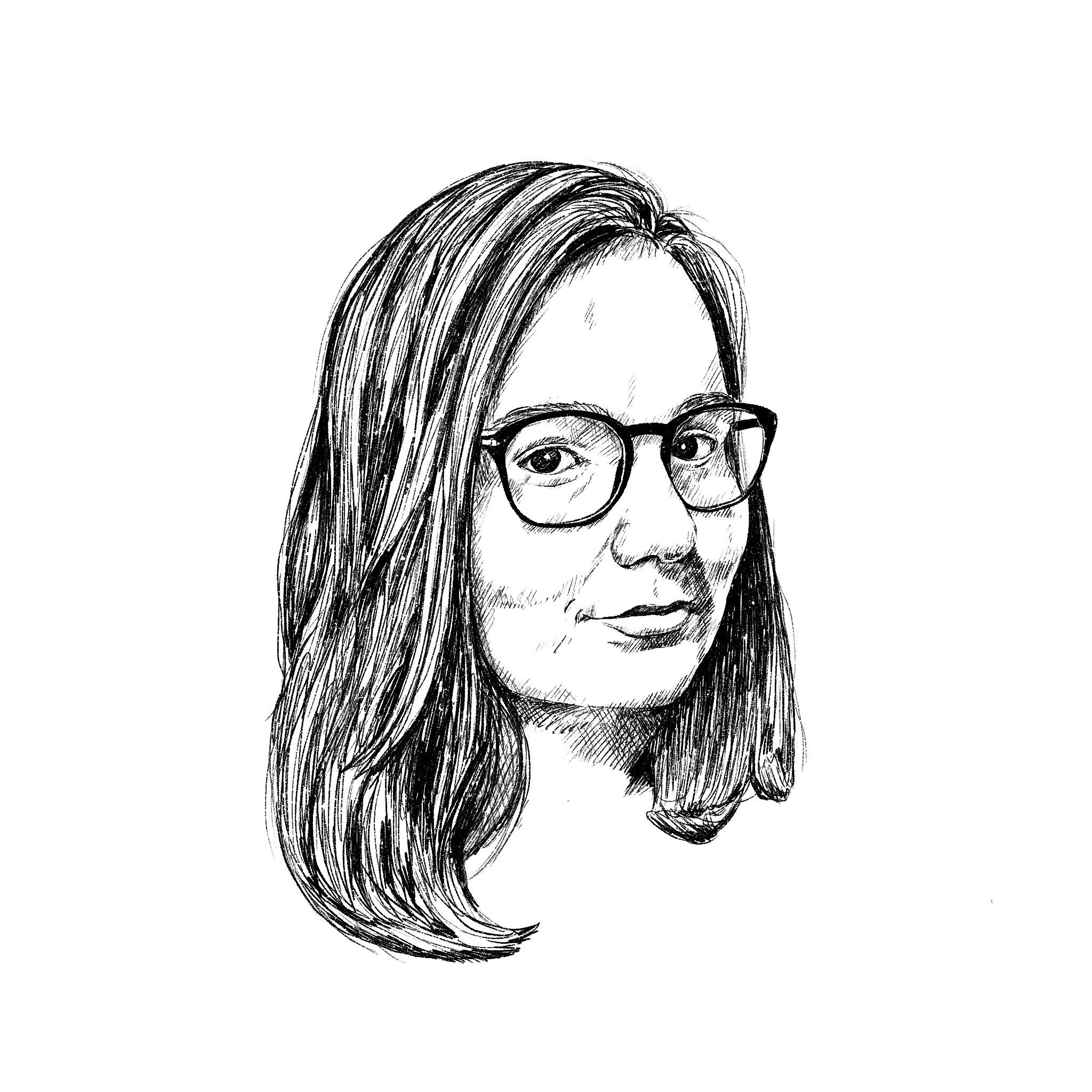 Salome Iljana: Illustration Porträt