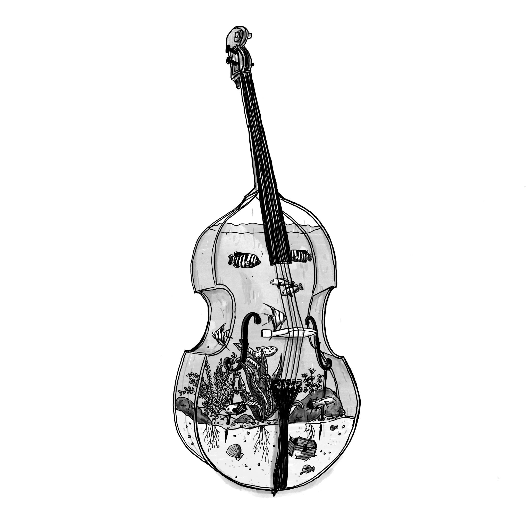 Salome Iljana: Illustration Cello