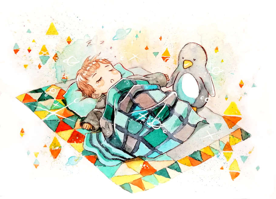 Sleeping Jinho