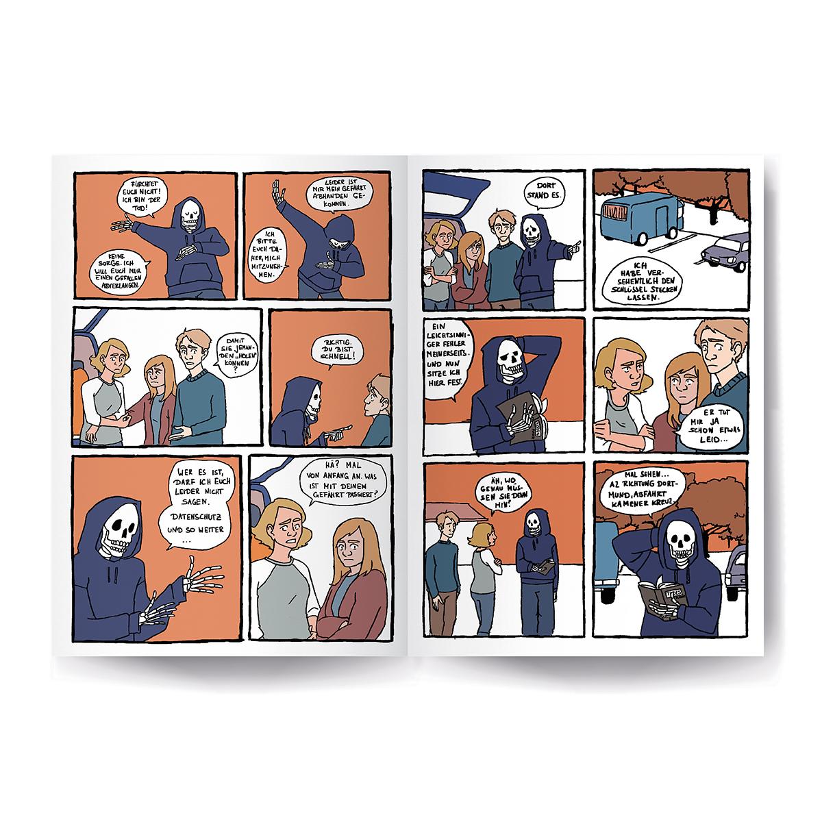 Tod: Comic