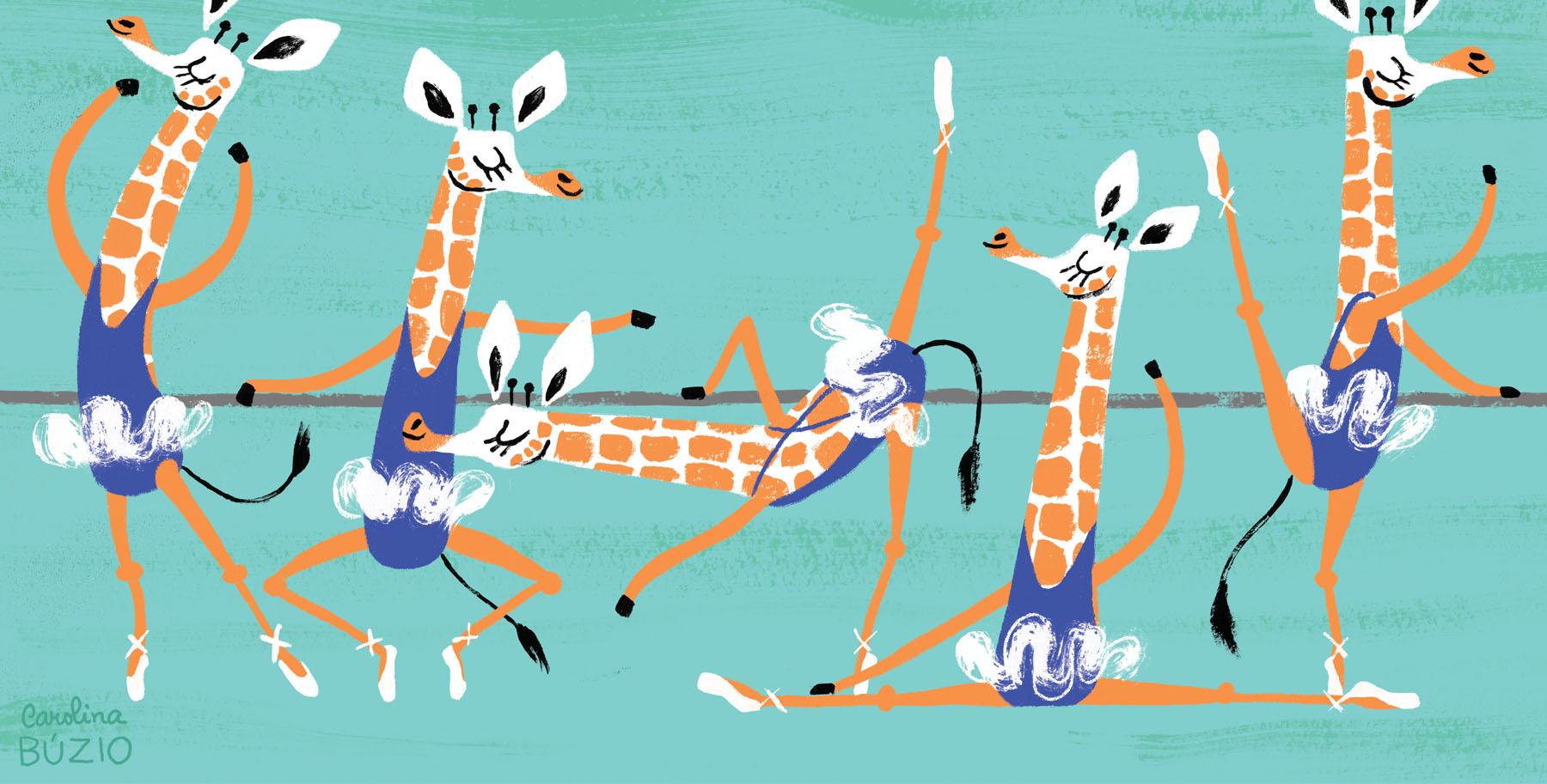 Giraffel-Balett