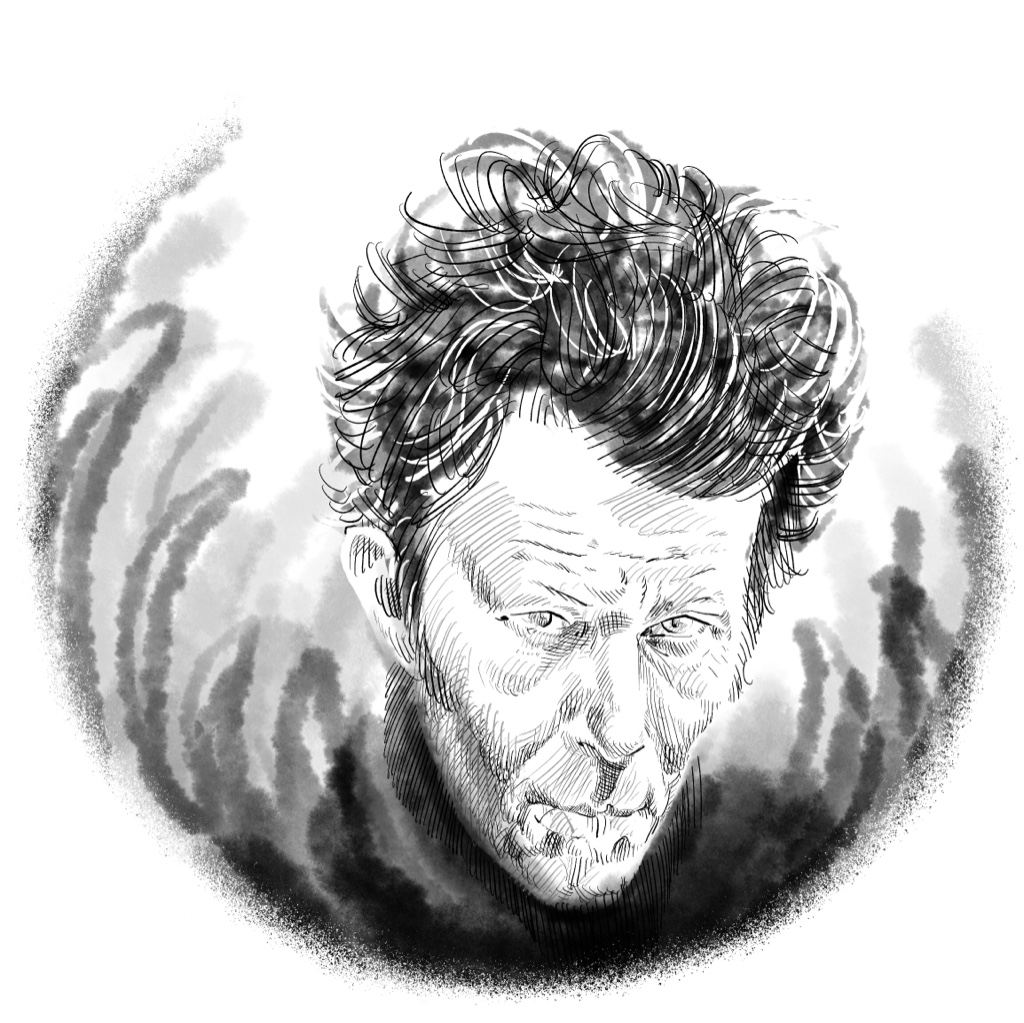 Porträt Tom Waits - American songwriter and musician