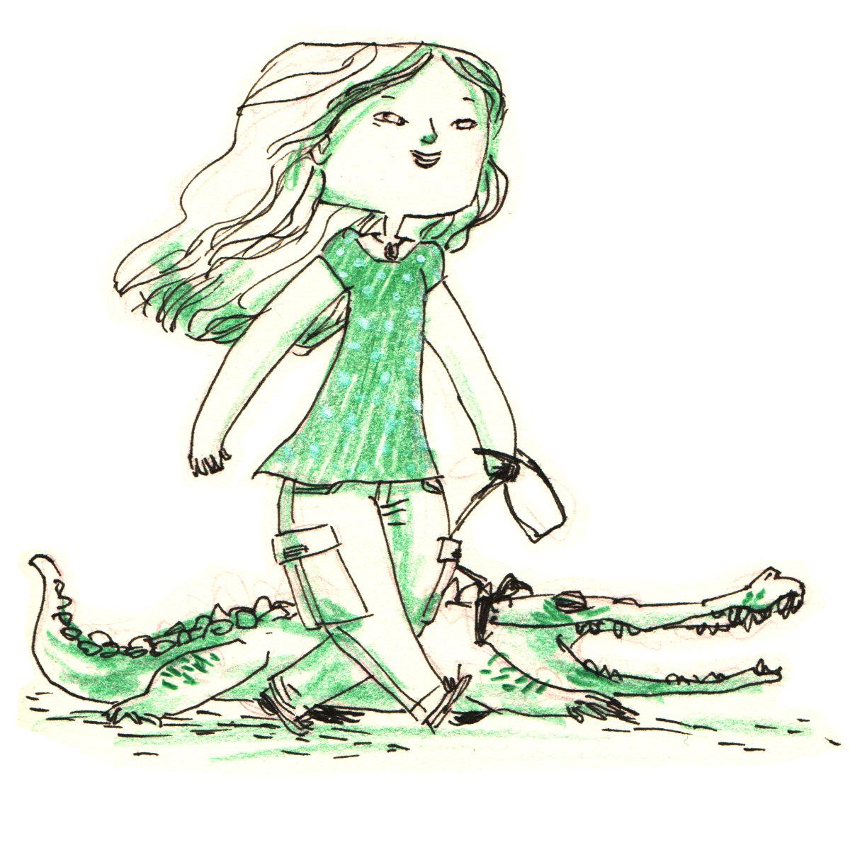 Crocodile Girl