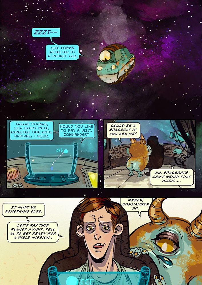 Comic: BoFletcher