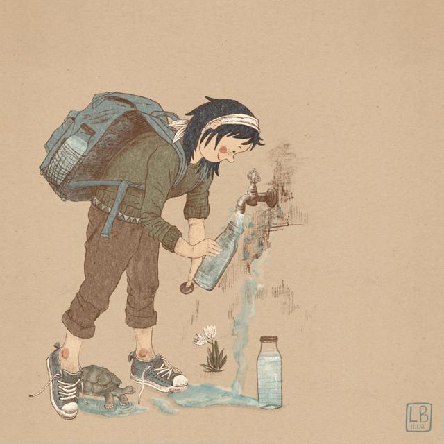Wasser nachfüllen