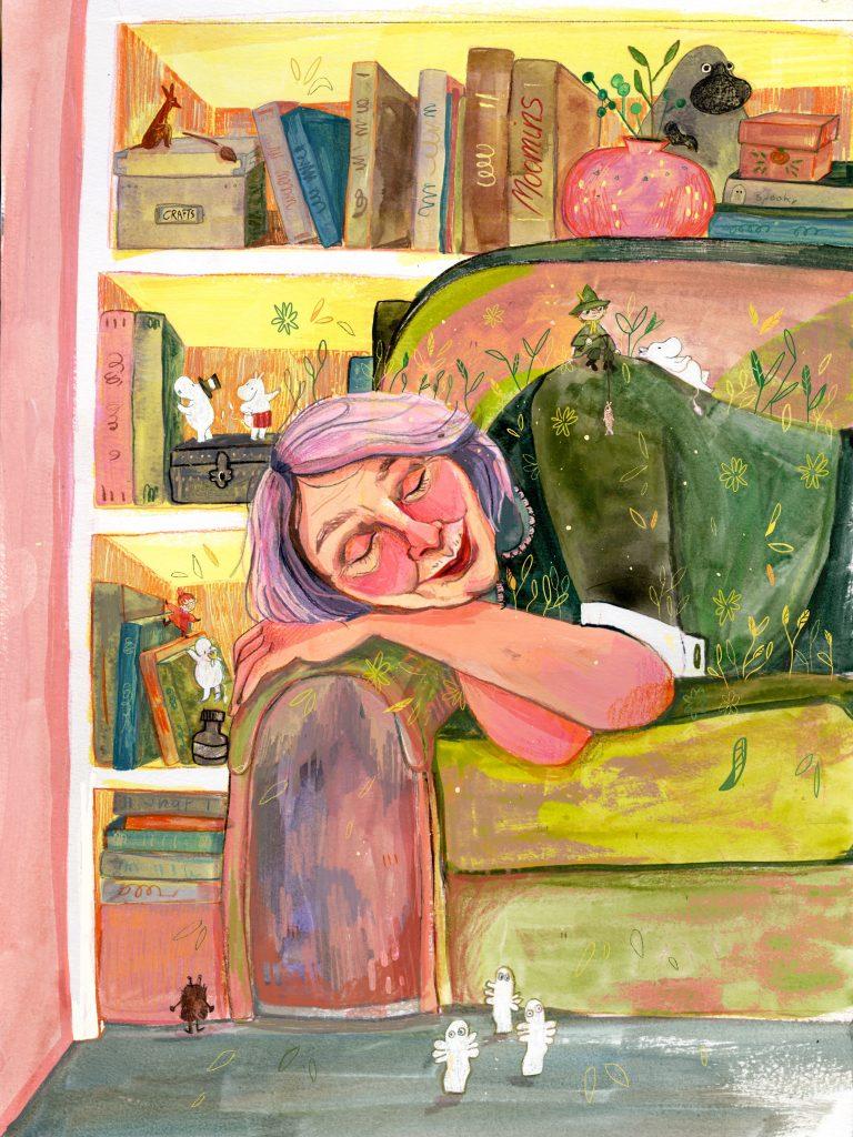 Moomins Traum: Tove Jansson
