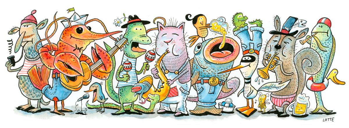 Music Animals