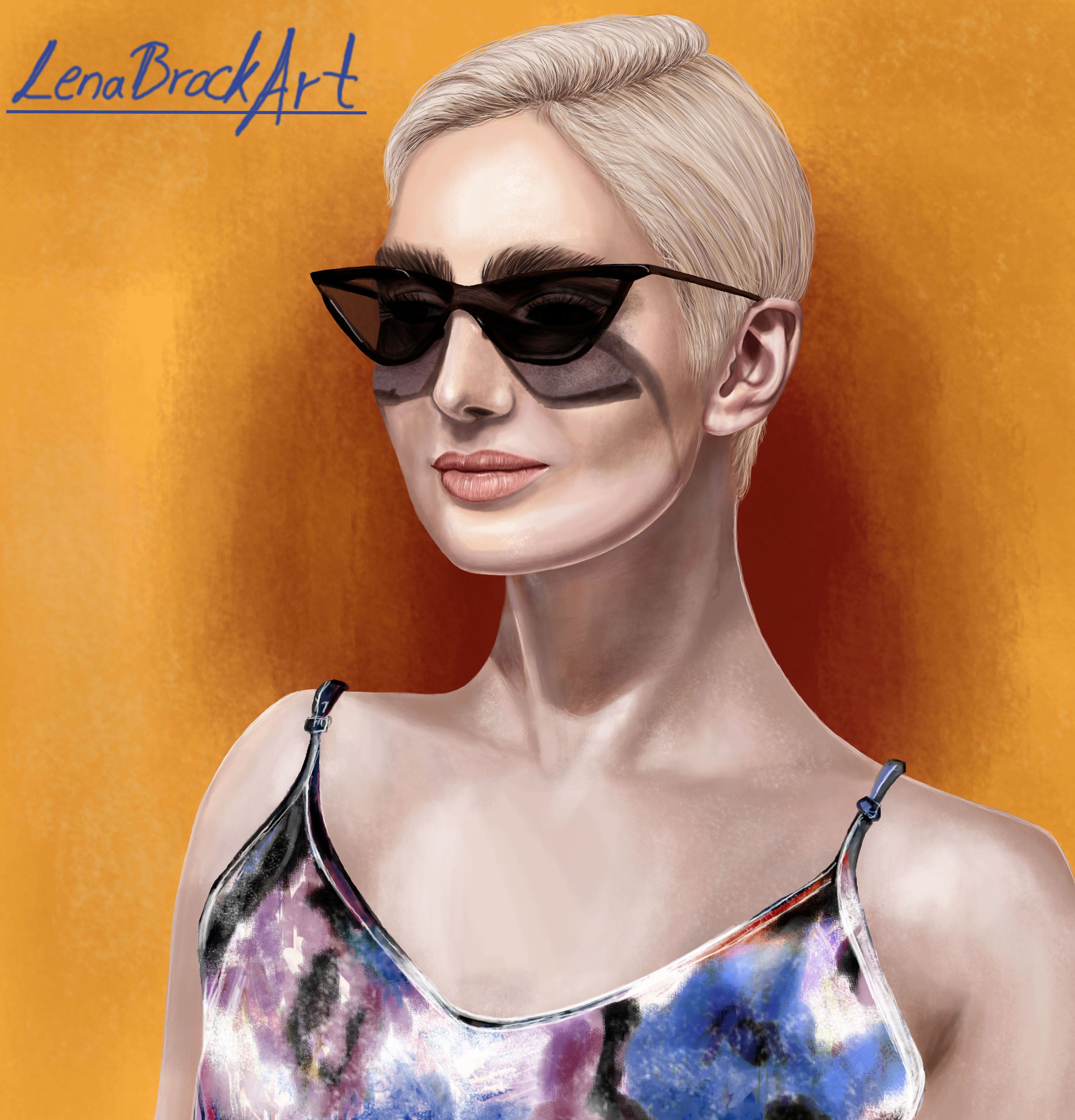 Lena: Porträt
