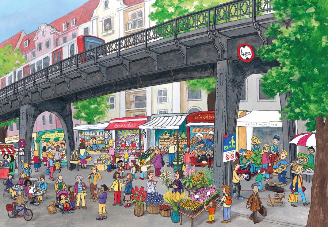 Hamburg Isermarkt