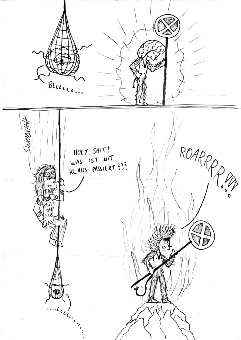 Klaus- Krautrocker - Comic