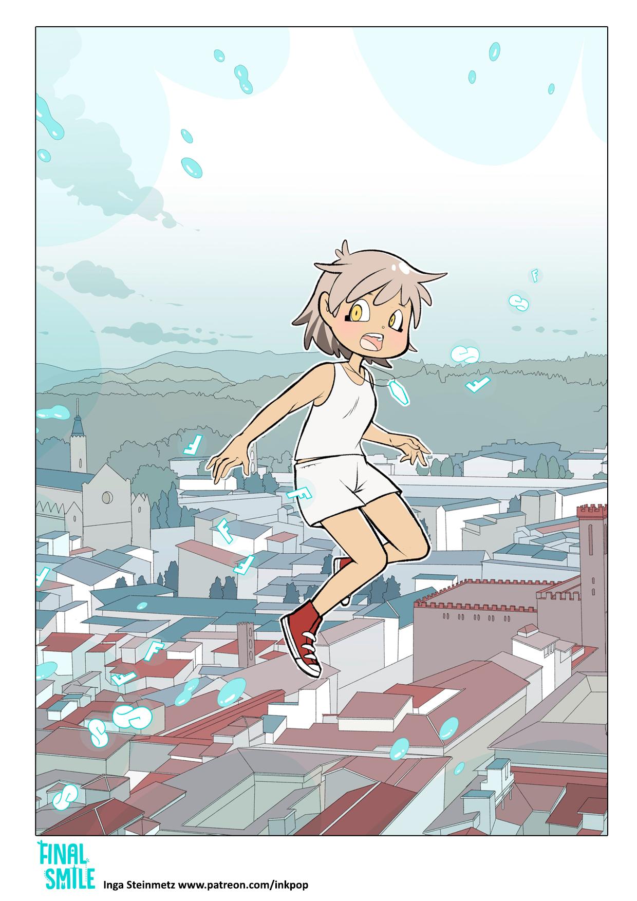 "Webcomic ""Final Smile"", Seite 02"