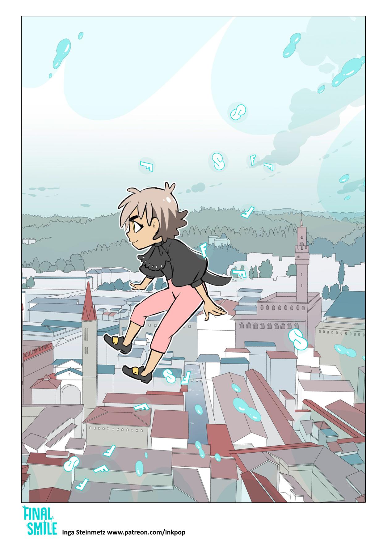 "Webcomic ""Final Smile"", Seite 03"