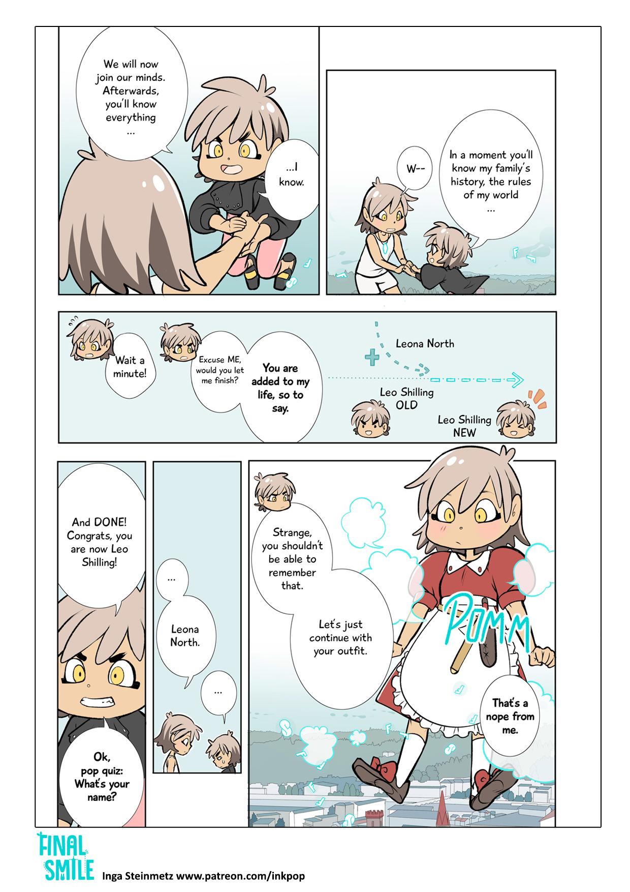 "Webcomic ""Final Smile"", Seite 04"