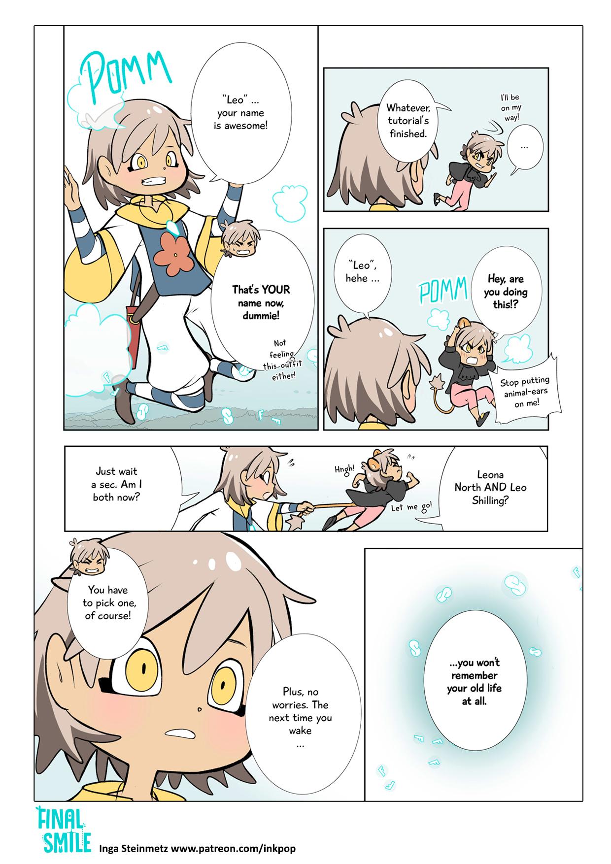 "Webcomic ""Final Smile"", Seite 05"
