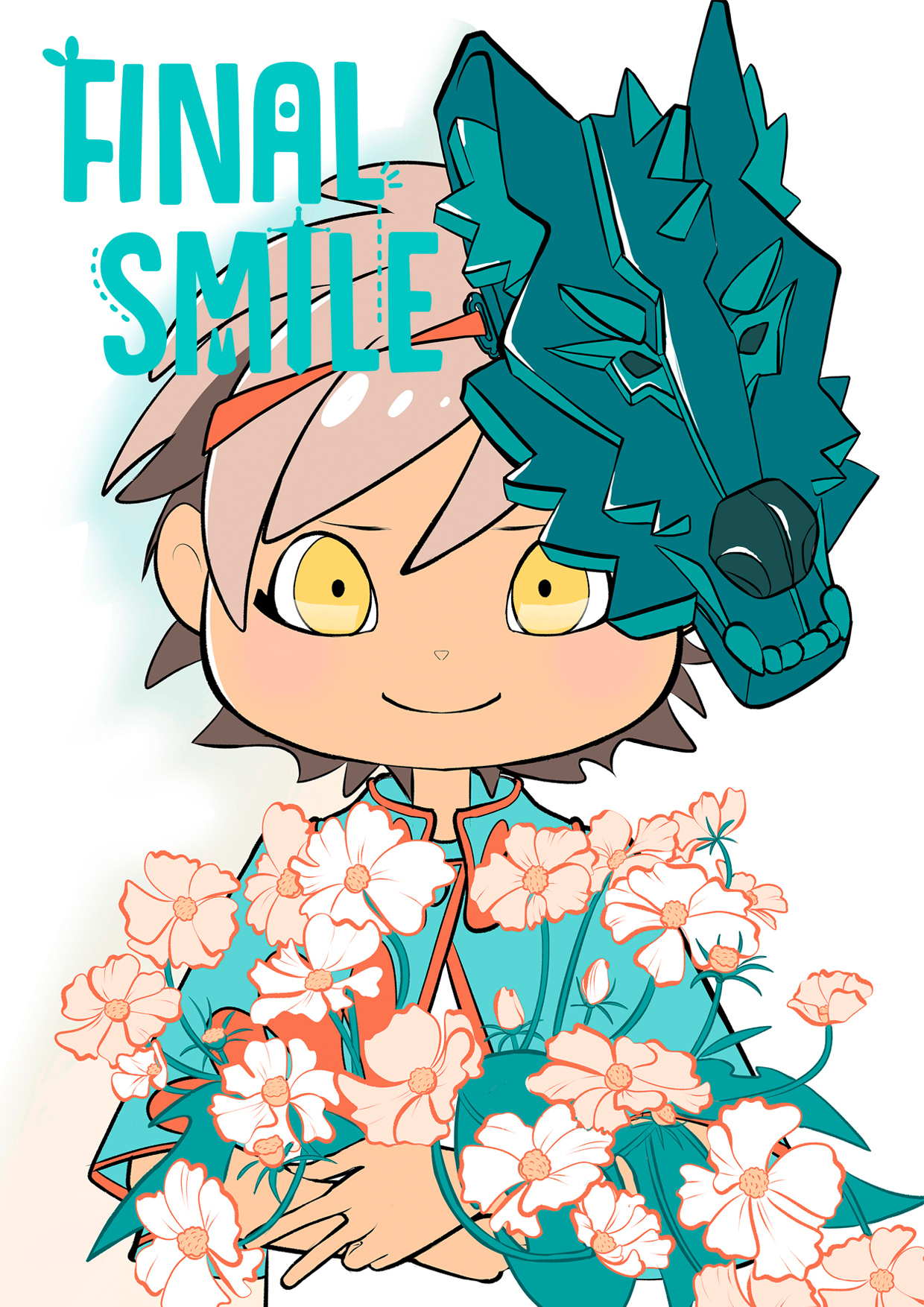 "Webcomic ""Final Smile"", Cover"