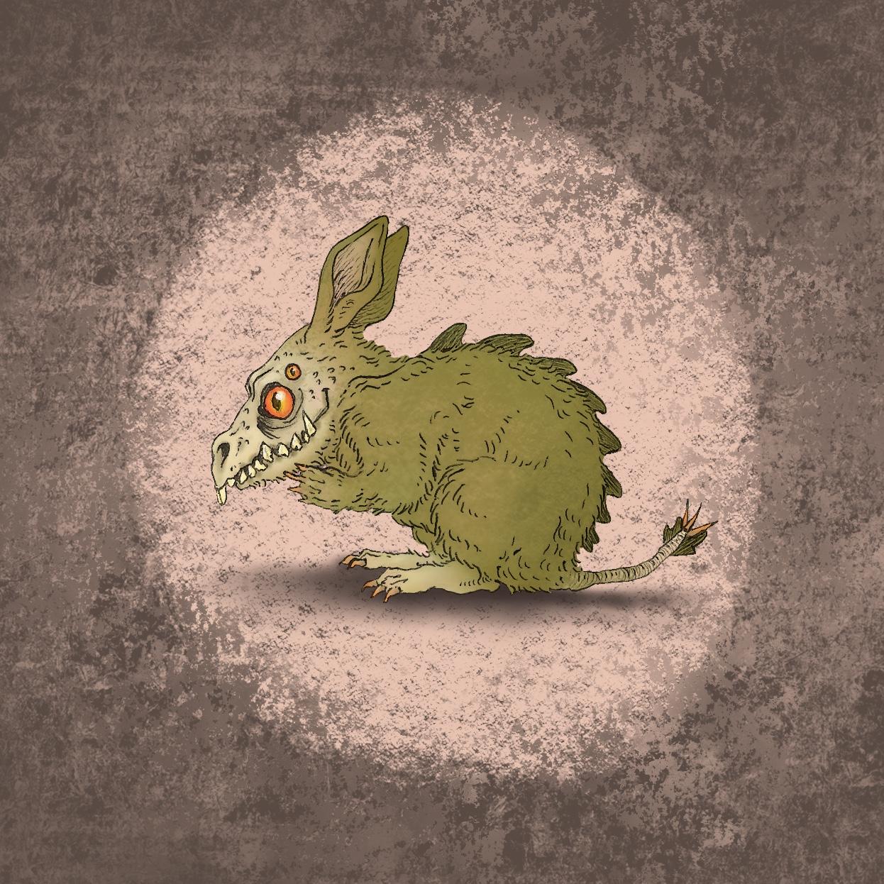 Kaninchen-Monster