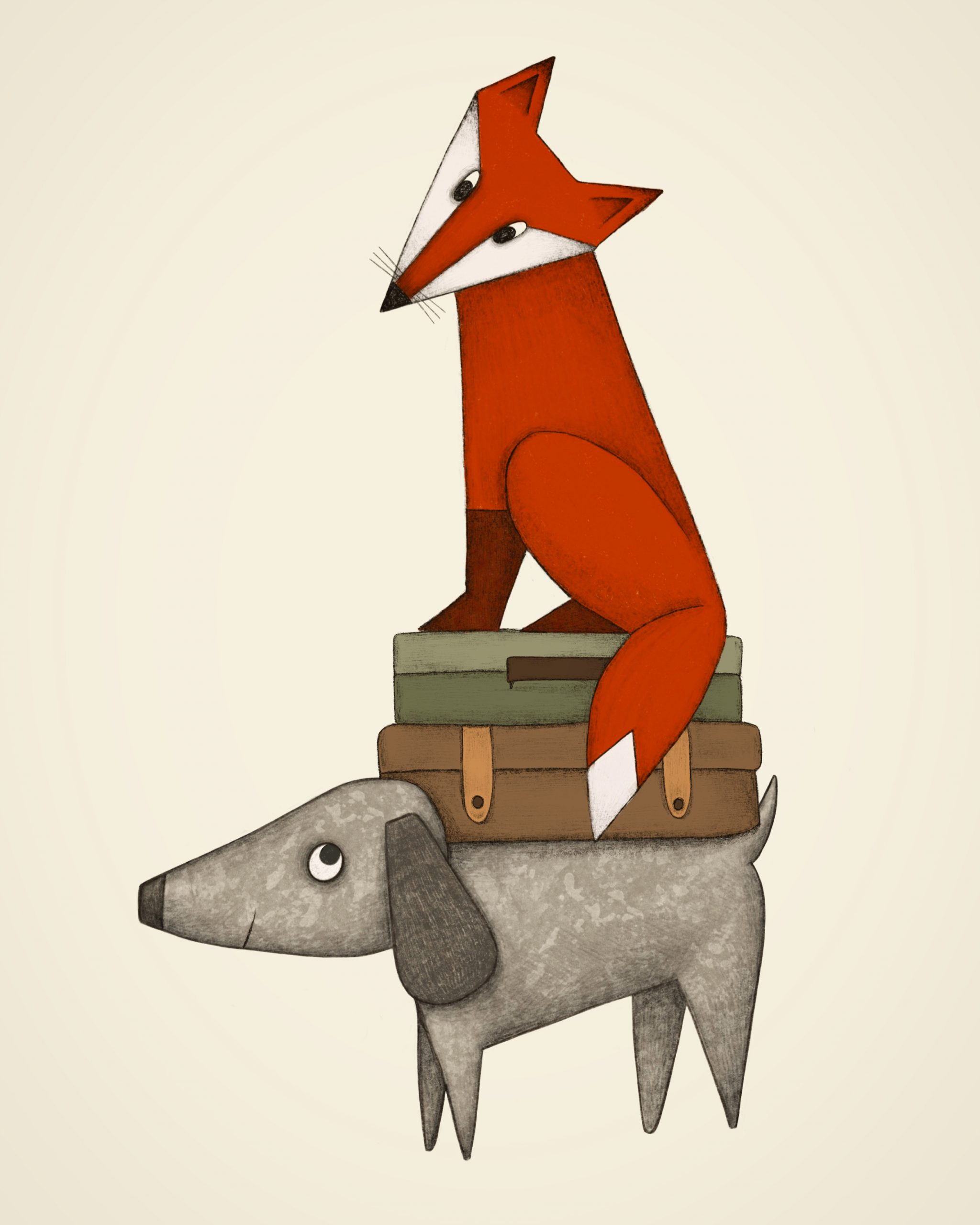 Fuchs udn Hund
