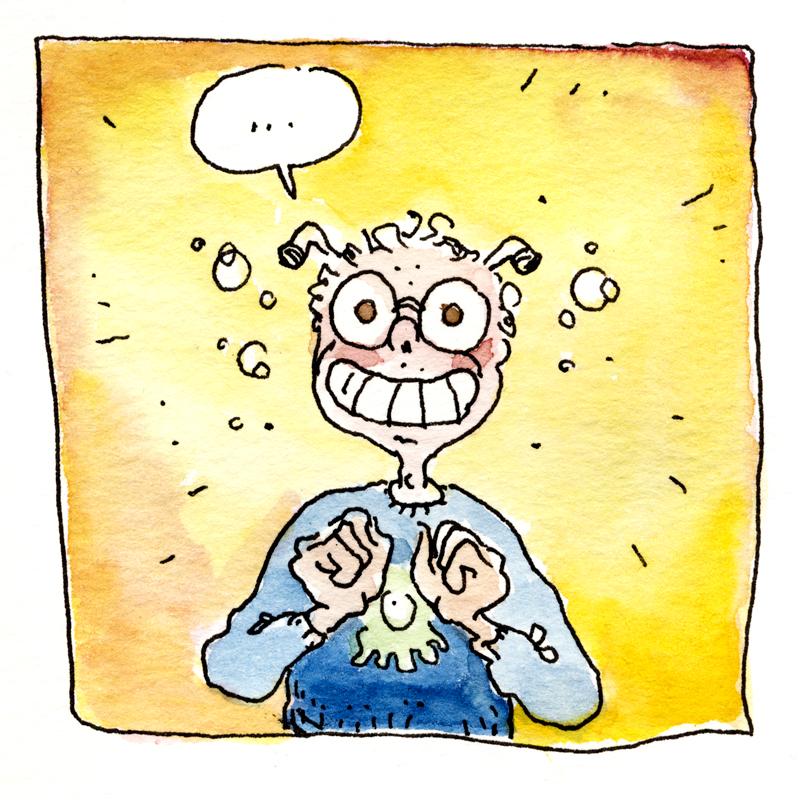 Sketchbook: Lächeln