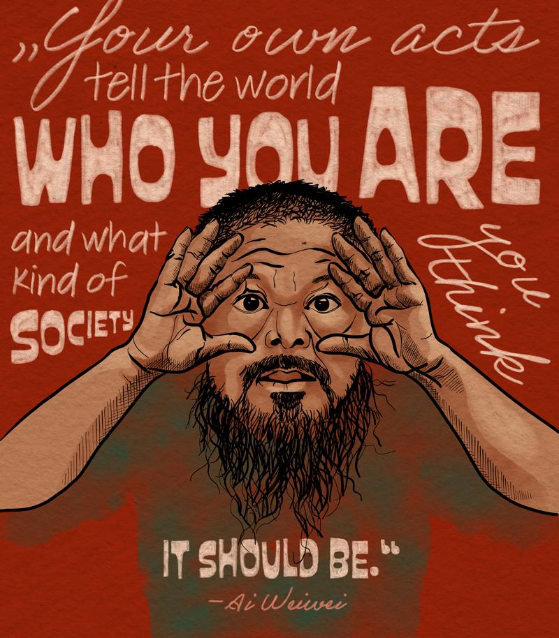 Menschenrechtler Ai Weiwei