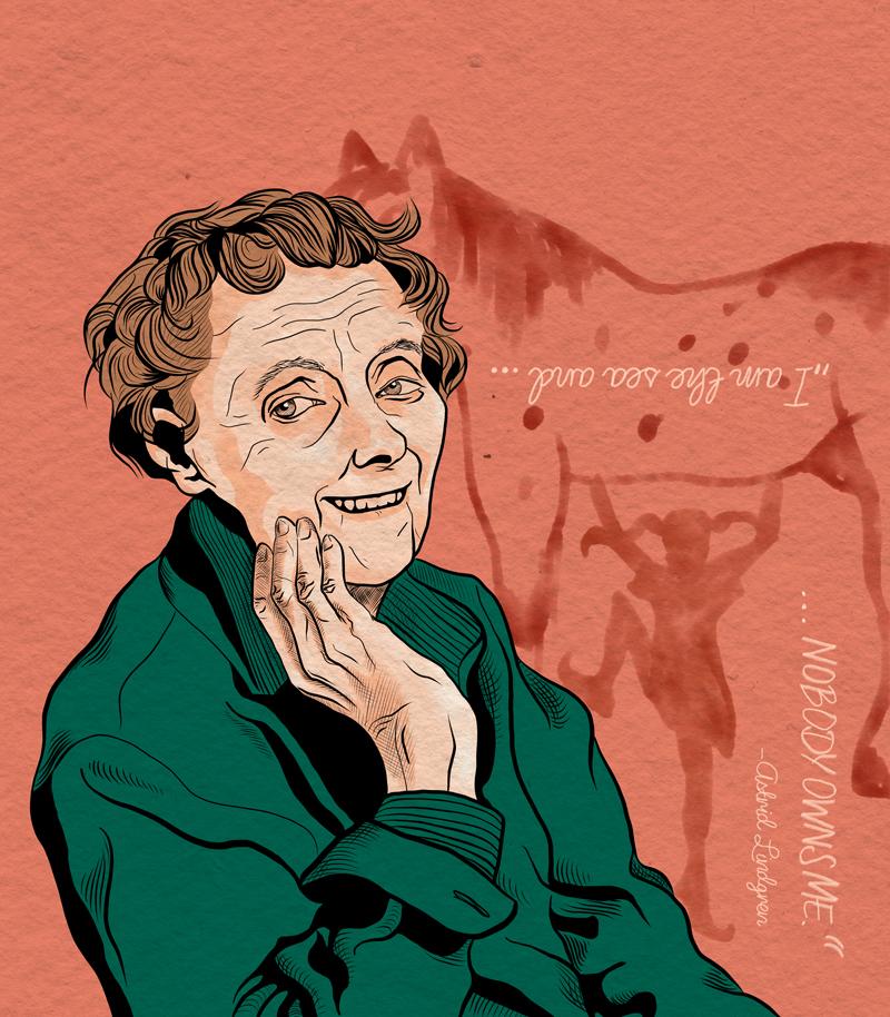 Menschenrechtler Astrid Lindgren