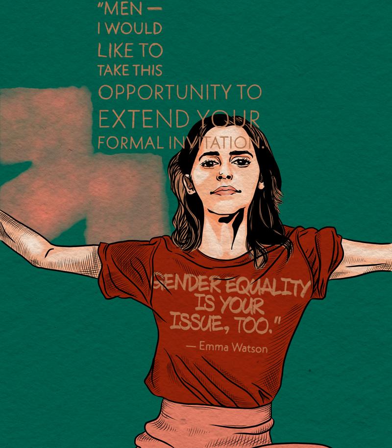 Menschenrechtler Emma Watson