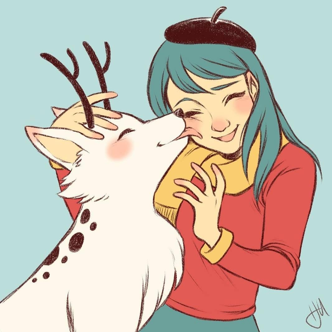 Hilda und Hörnchen