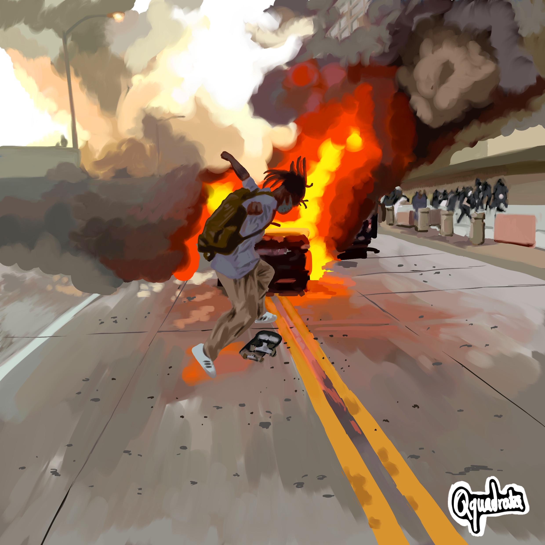 skate explosion