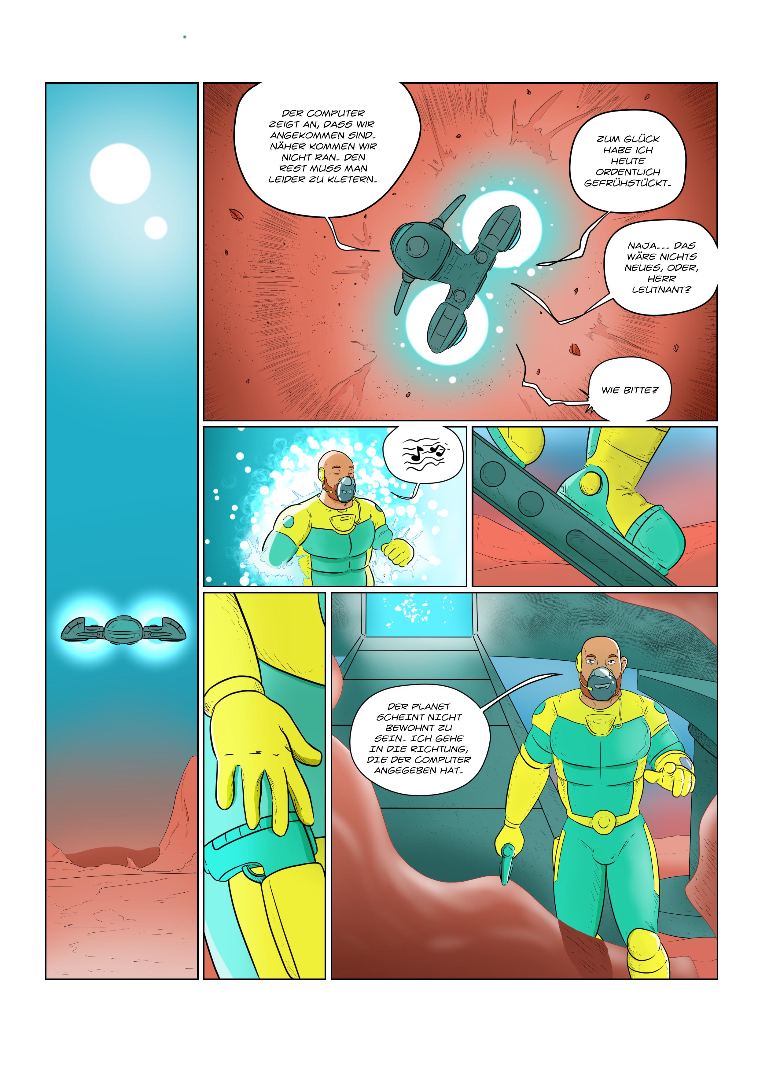 Power Bear: Comicseite