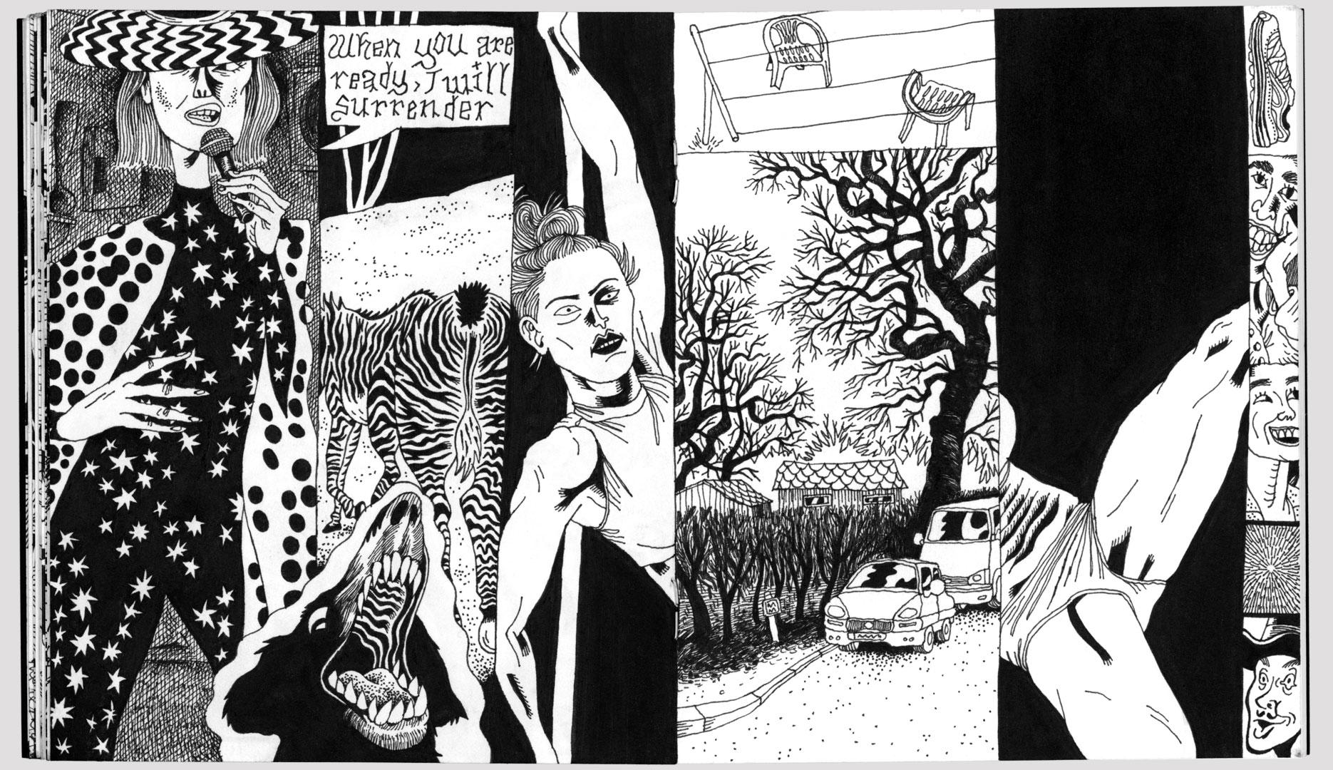 Benedikt Beck, Comicseite 02