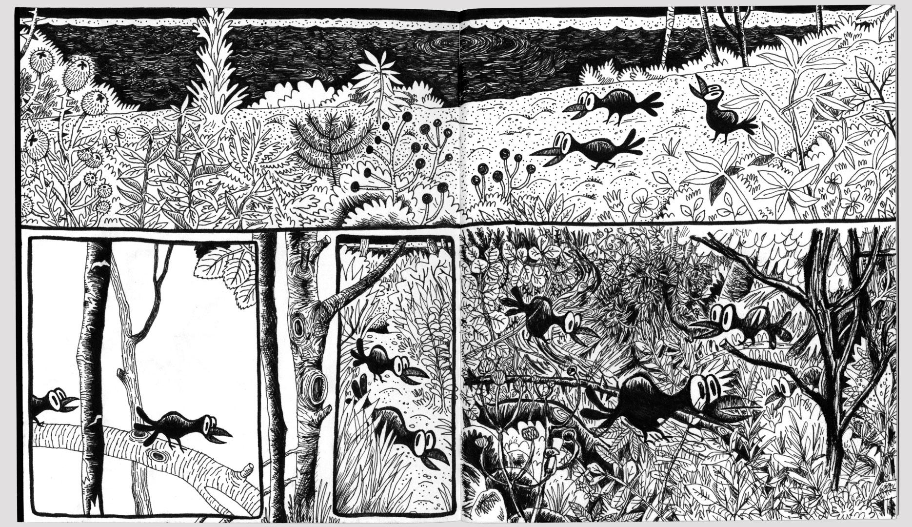 Benedikt Beck, Comicseite 03
