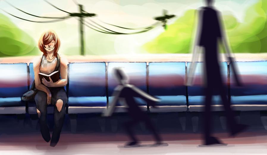 Straßenbahn Girl