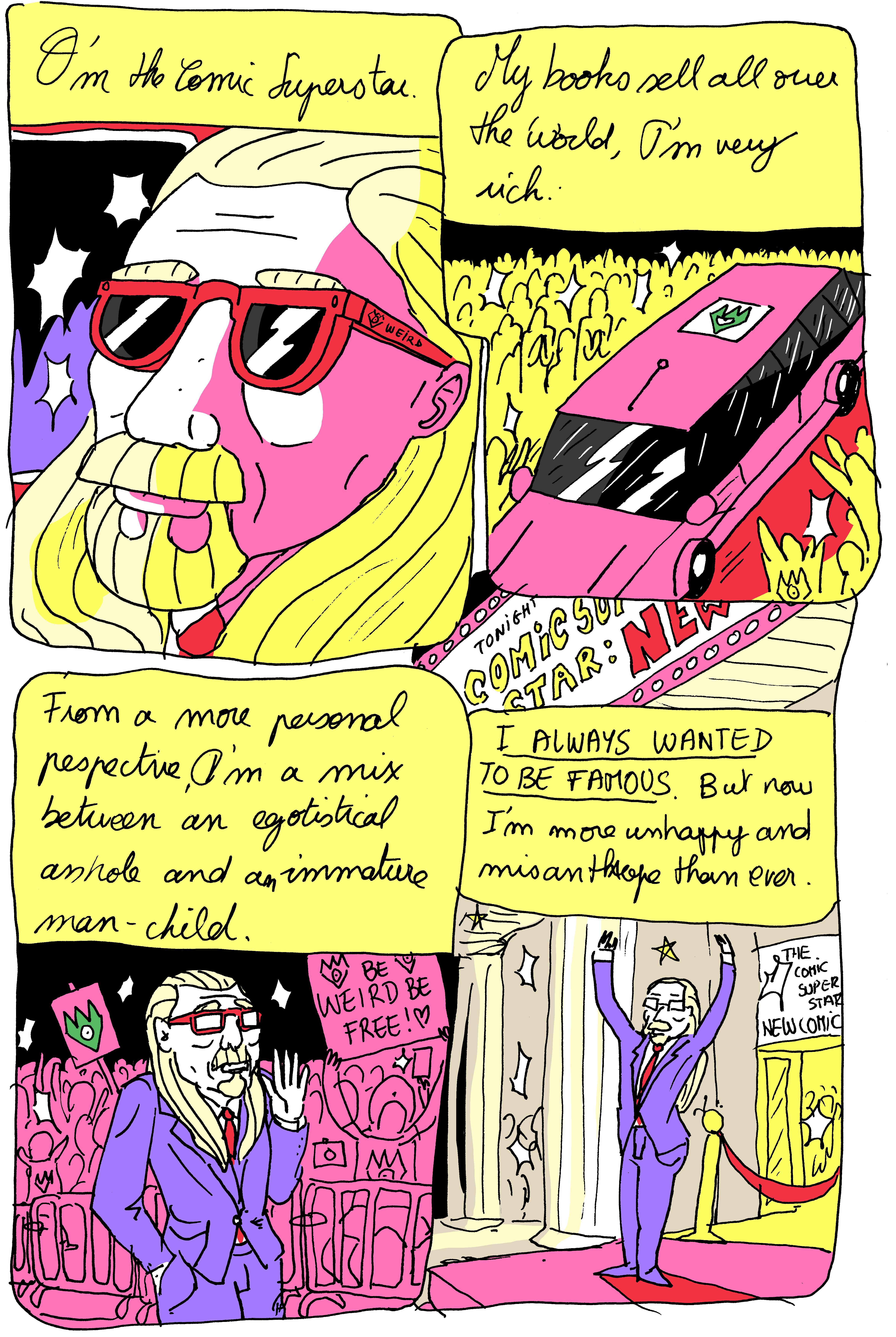 The Comic Super Star