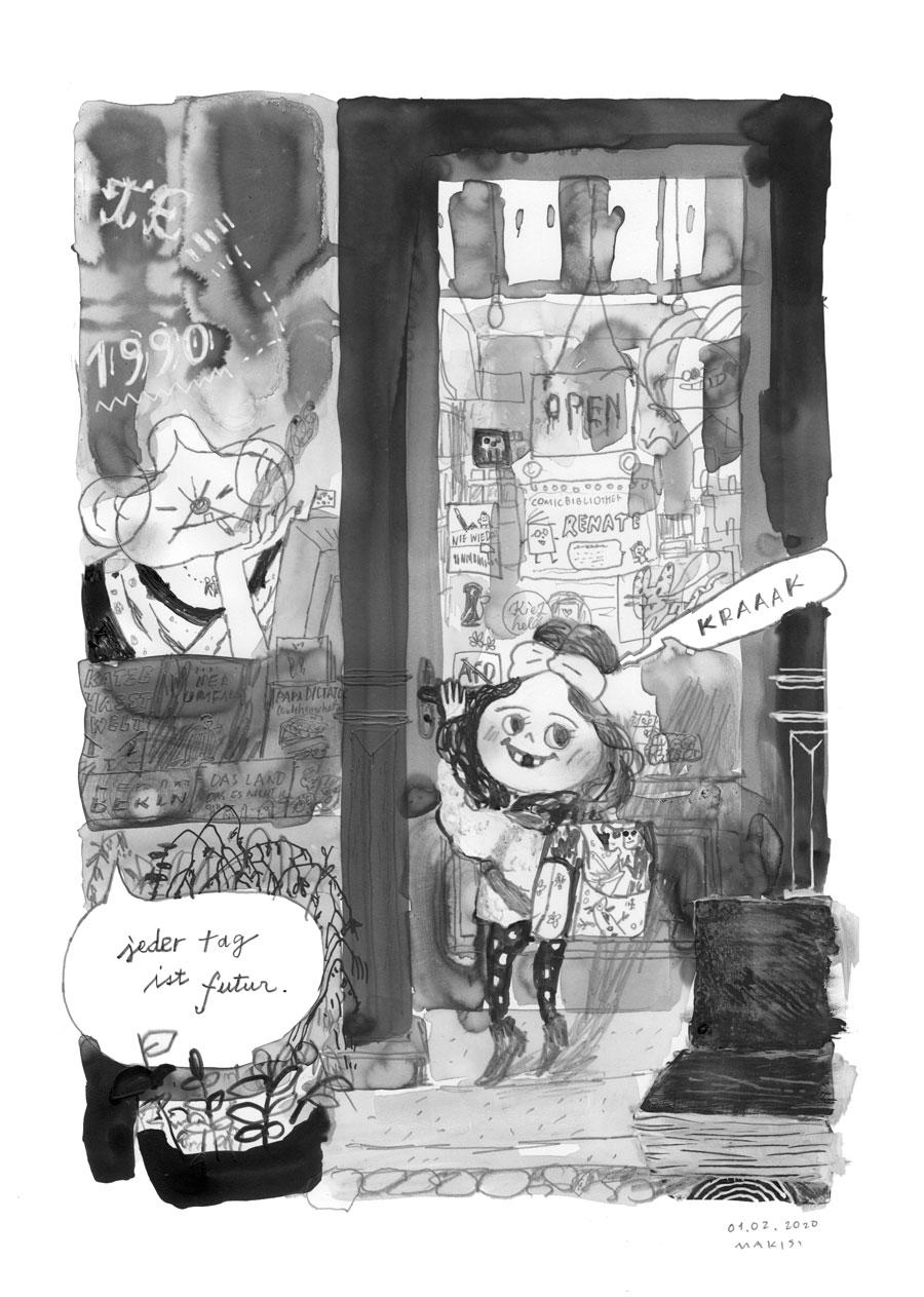 """ÜBER LEBEN  """"Es riecht nach Berlin."""" Rudolf & Sandy, 10.06.2021  Es geht um Tod und Mord, um Gentrifizierung und Obdachlosigkeit, um Traumata und Prostata, um häusliche Gewalt und Kindermissbrauch… aber auch um Liebe und Tiefe. Eine gnadenlose Graphic Novel über die Gnade  New Released! Juni 2021"""
