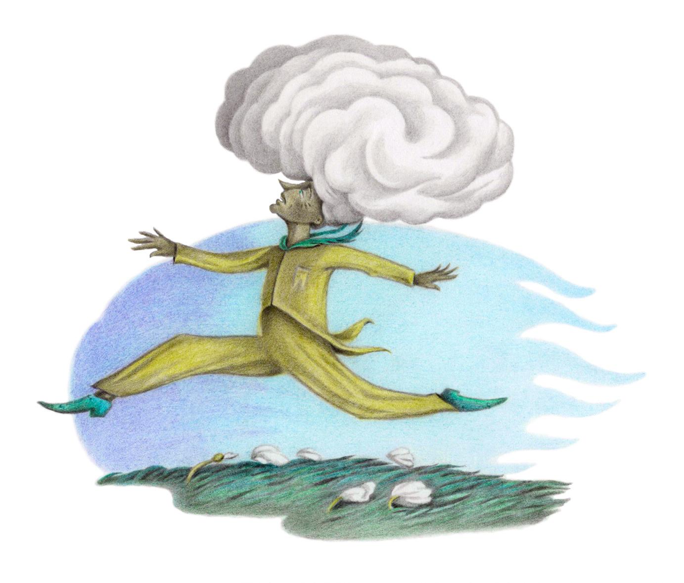 Tumbo runs for his hair-Esther Samuels-Davis